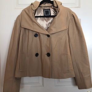 🧥 Old Navy Cropped Pea Coat with Hood